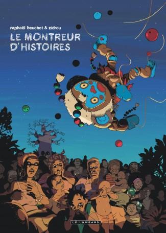 trilogie-africaine-zidrou-beuchot T 1 Le montreur d'histoires